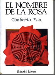 El Nombre de la Rosa libro