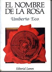 El Nombre de la Rosa libro