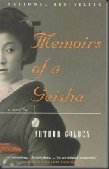 Memorias de una Geisha libro