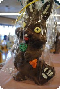 Creepy Chocolate Easter Bunny