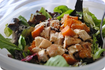 Butternut Squash and Chicken Salad