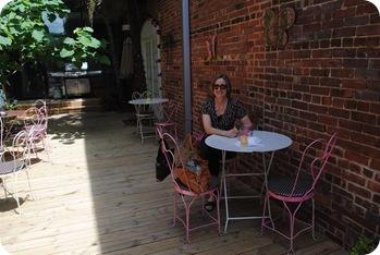 Cupcake patio