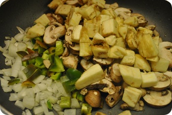veggies to be sautéed