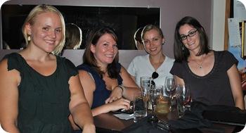 Kat, Lizzie, Carla, Lily