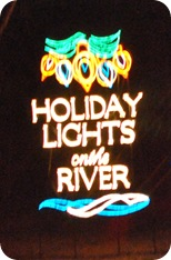 Saluda Shoals Park Lights on the River