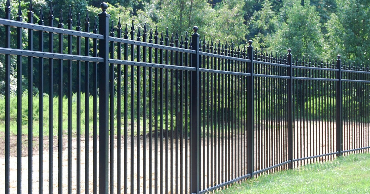 Ultra aluminum fencing gates and handrails fence for Fence installation tips