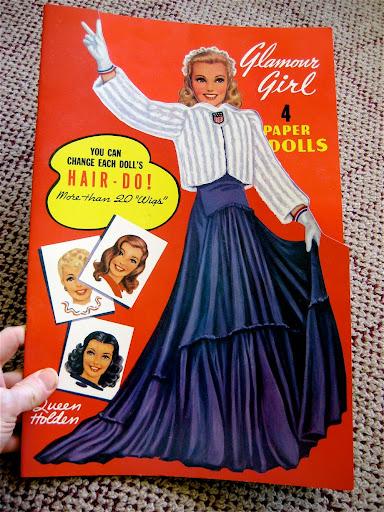 IMG 3646 Vintage Glamour Girl Paper Dolls GIVEAWAY