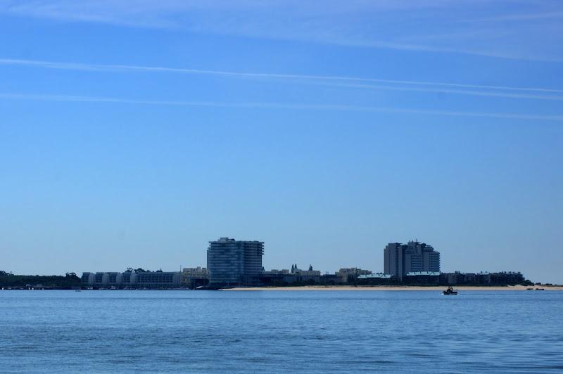 Troia vista desde a Praia de Albarquel