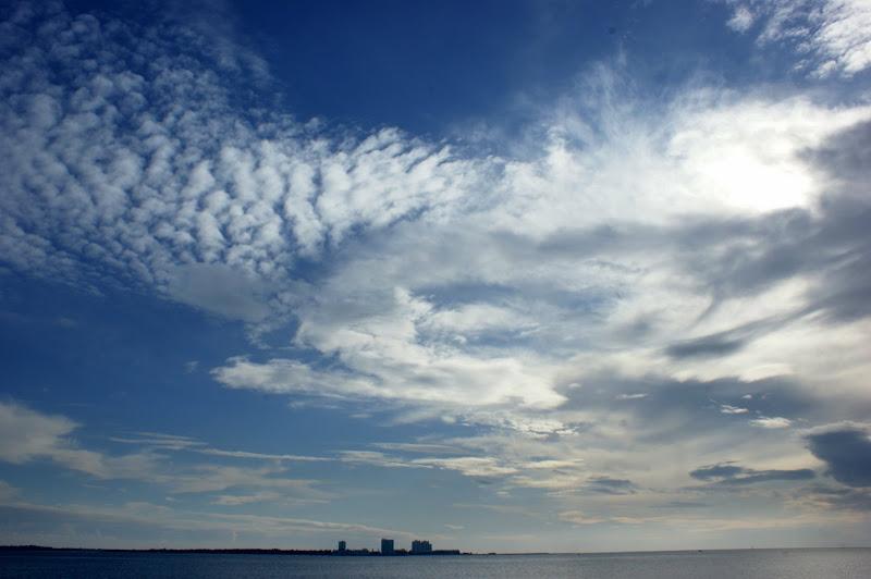 O céu e o Sado