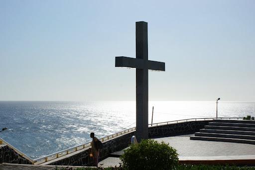 Cruz na cidade da Praia, Cabo Verde