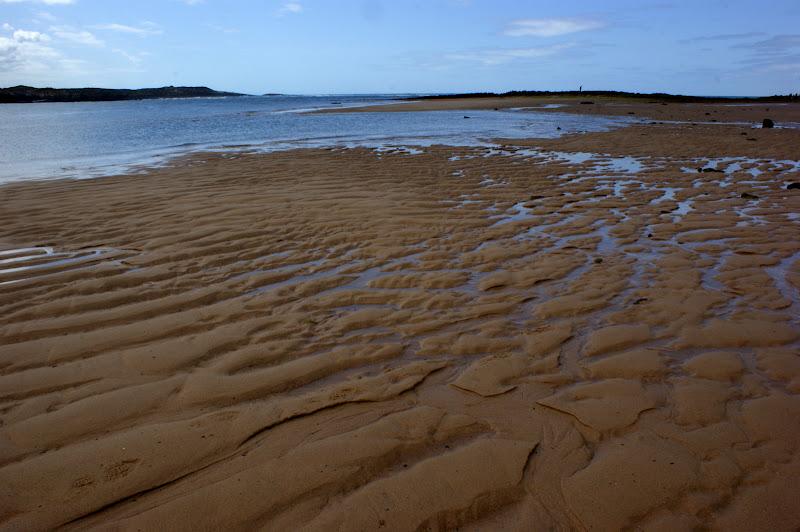 Maré baixa em Vila Nova de Milfontes