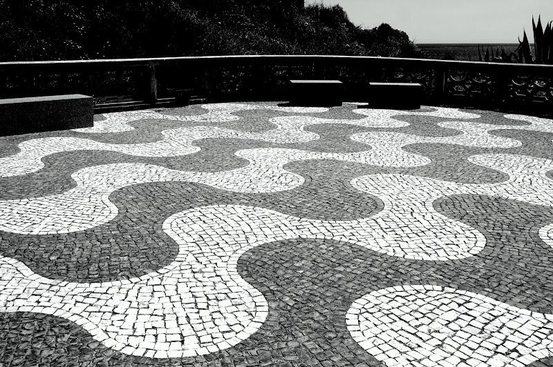 Pedras da calçada