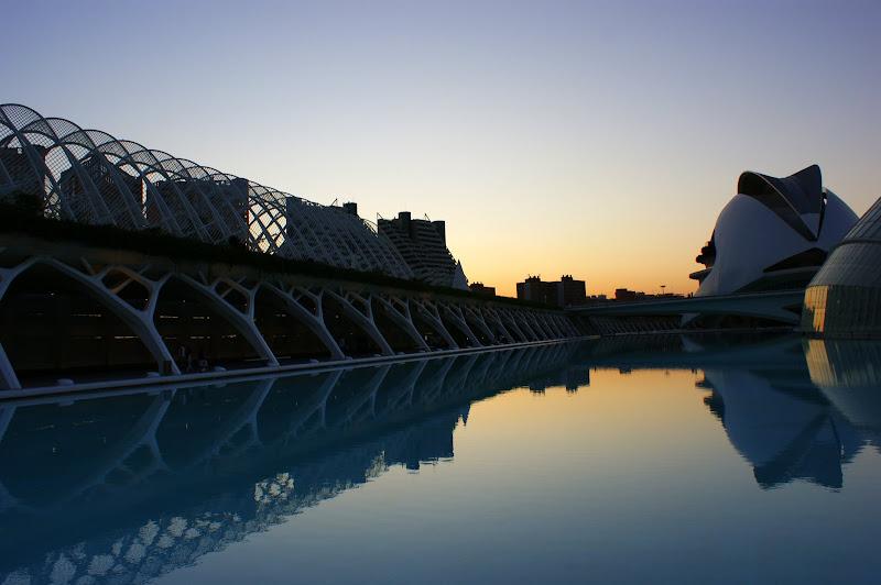 Reflexos, Cidade da Ciência, Valência