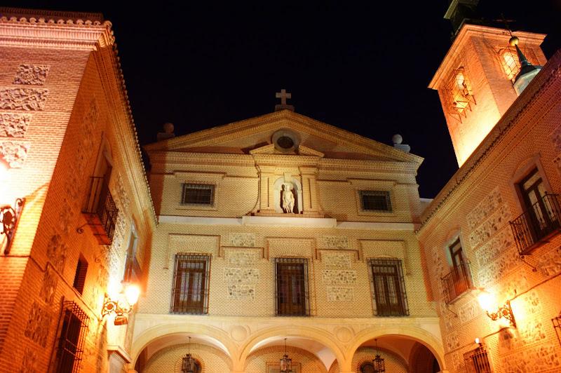 A beleza da luz nocturna, Madrid à noite