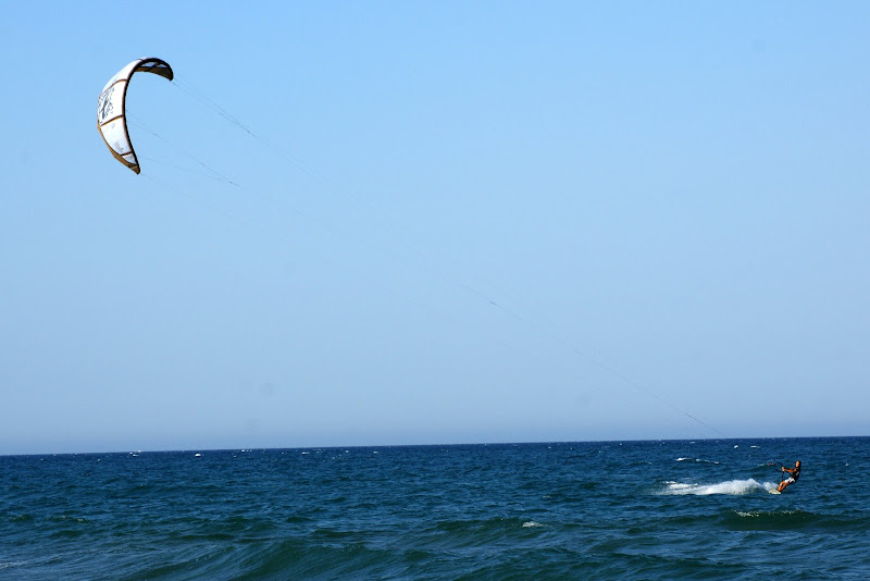 Praia de Oliva, Kite surf