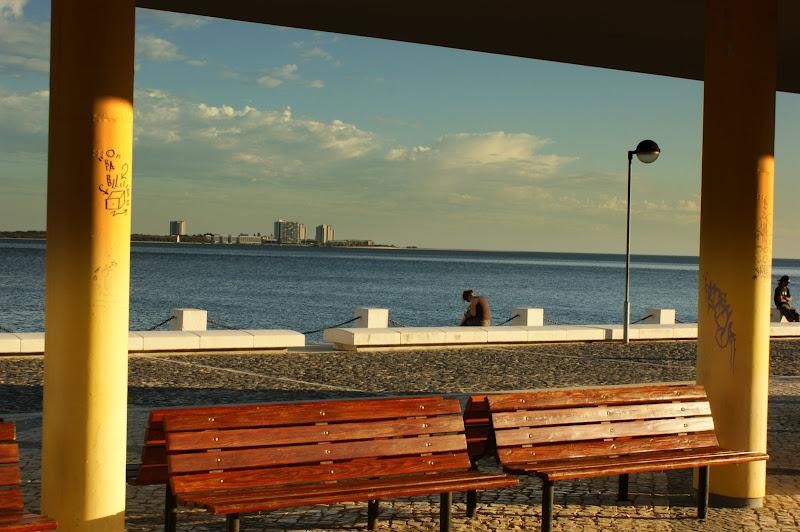 Setúbal, Jardim da Beira Mar, antiga estação dos barcos para Troia