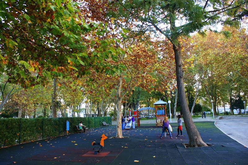 Fim de tarde de Outono, Jardim do Bonfim