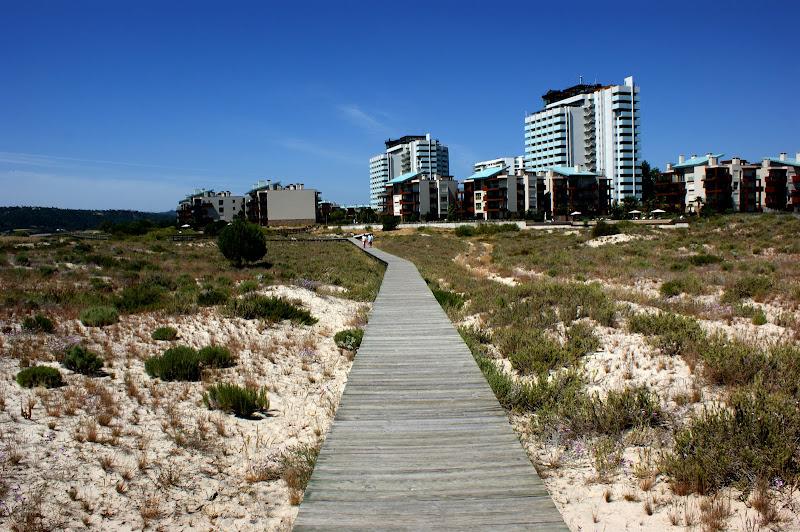 Ir à praia em Troia