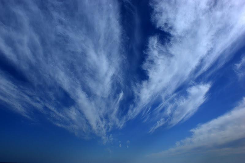 Nuvens no céu de Setúbal