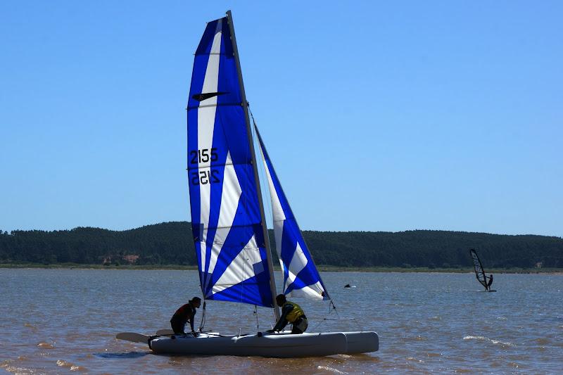Velas na Lagoa de Óbidos
