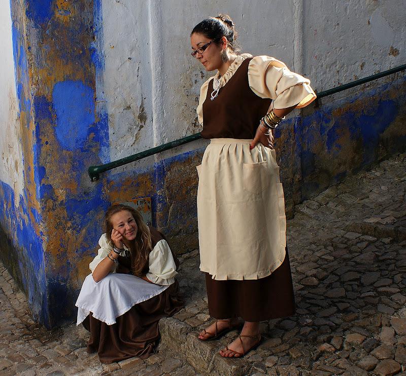 As meninas da Feira Medieval