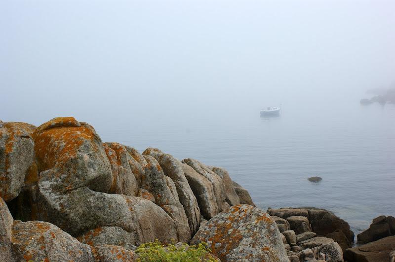 San vicente del mar num dia de neblina