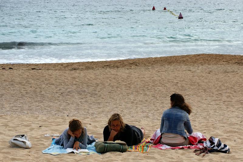 Dias de Praia, ler na praia, Praia Montalvo, Sanxenxo