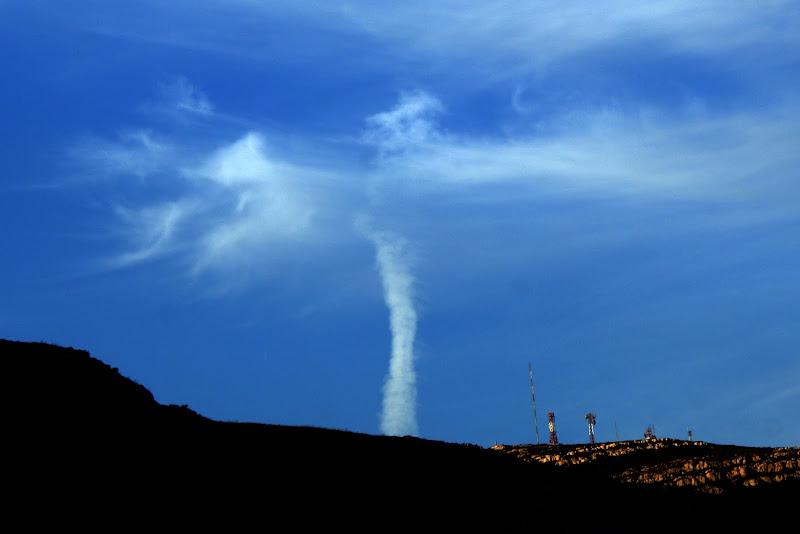 Um tornado na serra da Arrábida?