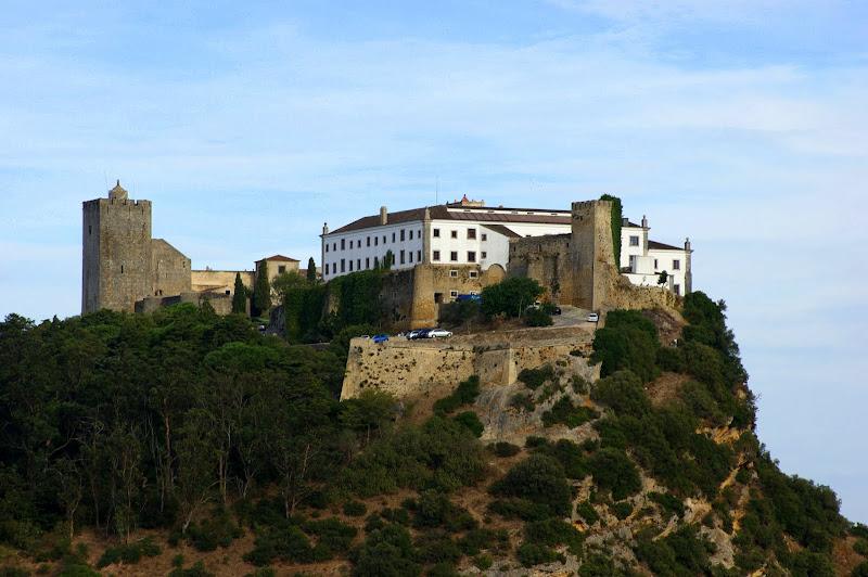 Palmela, O castelo desde a Serra do Louro