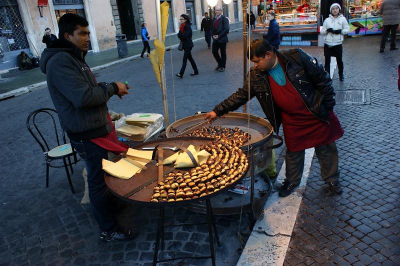Castanhas em Roma