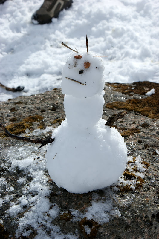 O boneco de neve mais feio do mundo