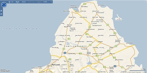 Updated Google Maps For Mauritius - Mauritius map google