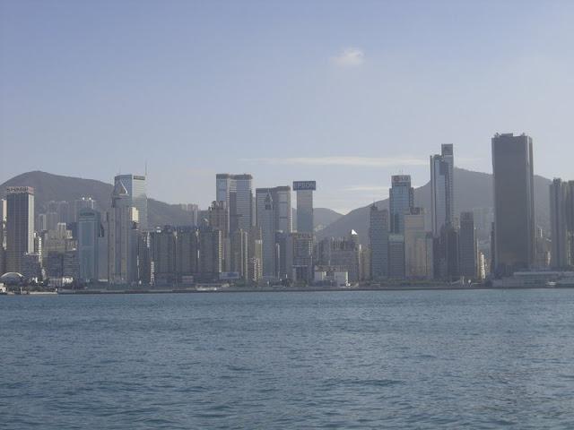Widok na wyspę Hong Kong