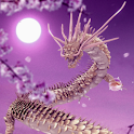 Moon Dragon Pink icon
