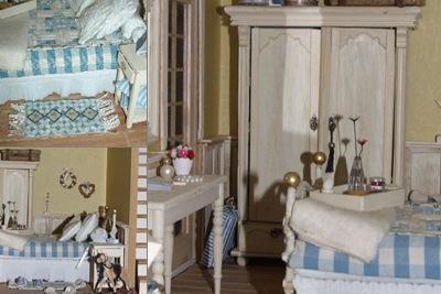 Bellevu slaapkamer weergegeven