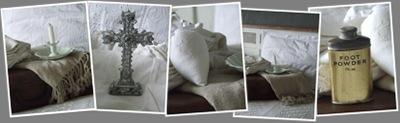 stralend wit slaapkamer weergegeven