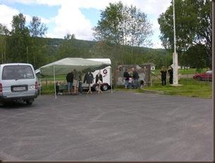 Mange var interesserte i alpakka på Knapperdagen
