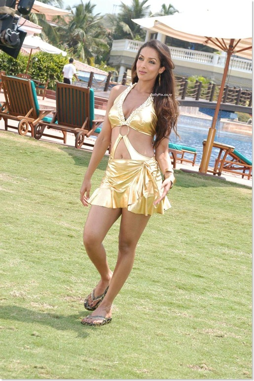 Malaika Arora Khan in a Golden Swimsuit - After Priyanka Chopra, Now see this...