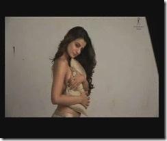 Amisha Patel Topless Daboo Ratnani Calendar 2009 (3)