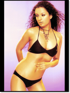 Kangana Ranaut - a couple of very hot unseen bikini pictures of Kangana Ranaut...