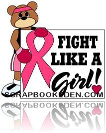 fight like a girl bear and ribbon200j