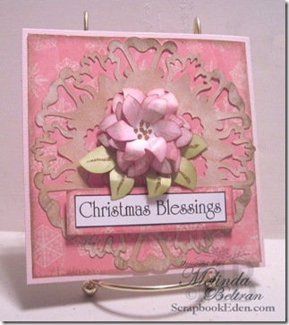 christmas blessings card cricut version-500