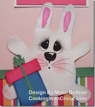cricut bunny cut by melin beltran