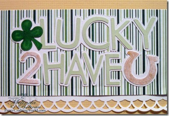 cricut lucky 2 have u close up-500