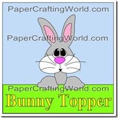 bunny topper42011-275jl