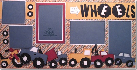 cricut a boy and his wheels layout