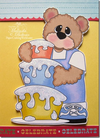 bear w cake boy v-500