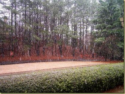 Beginning Snow