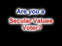 Secular Values Voter