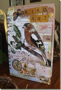 BIrd Lover's Journal Cover